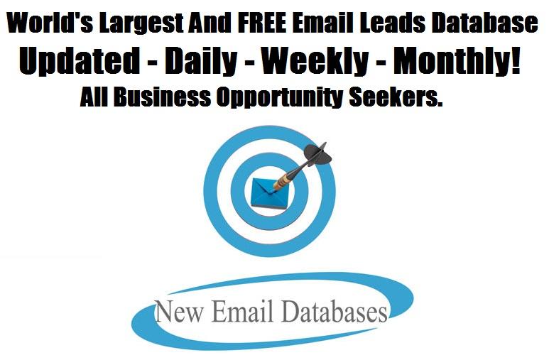 Worlds Largest Leads Database